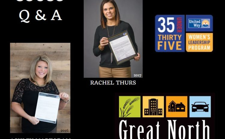 Thurs Invited by United Way to attend 35 Under 35 Program